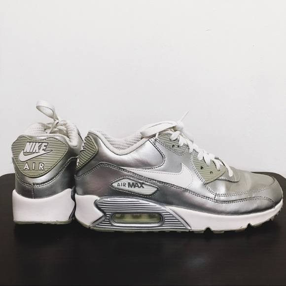 Silver Holographic Nike Air Max 90